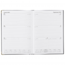 Luxe corporate appointment casebound diary A4 week to view 1 hour