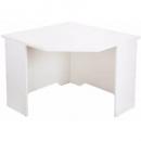 Rapid vibe corner desk 900 x 900 x 600 x 730mm white