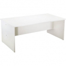 Rapid vibe open desk 1500 x 750 x 730mm white