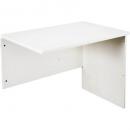 Rapid vibe open desk return 900 x 600 x 730mm white