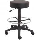 Rapidline data stool counter height black