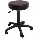 Rapidline data stool desk height black