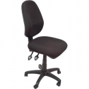 Rapidline operator chair medium back 2 lever black