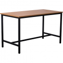 Rapidline high bar table 1800 x 900 x 1050mm beech