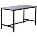Rapidline high bar table 1800 x 900 x 1050mm grey