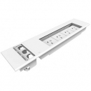 Rapid surface mount flip box 4 auto switched GPO and provision for 3 flip data