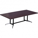 Rapidline typhoon boardroom table 2400 x 1200 x 750mm appletree