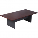 Rapid manager rectanguler boardroom table 2400 x 1200 x 730mm appletree/ironstone