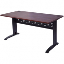Rapid manager open desk 1500 x 750mm appletree