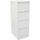 Go steel filing cabinet 4 drawer 460 x 620 x 1321mm white china