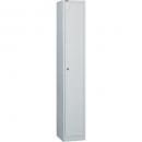 Go steel locker 1 door 305 x 455 x 1830mm white
