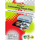 Gold sovereign laminating pouch A4 125micron box 100