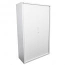 Go steel tambour door cupboard no shelves 1200 x 473 x 1981mm white china