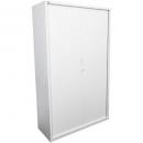Go steel tambour door cupboard 5 shelves 900 x 473 x 1981mm white china