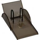 Italplast I120blk desk calendar stand top opening black