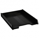 Italplast slimline document tray A4 black