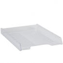 Italplast slimline document tray A4 clear