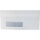 Initiative DL window envelopes self seal secretive 80gsm 110 x 220mm box 500