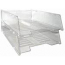 Italplast multi fit document tray A4 clear