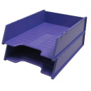 Italplast multi fit document tray A4 grape
