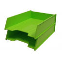 Italplast multi fit document tray A4 lime