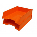 Italplast multi fit document tray A4 mandarin