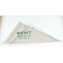 Kent no 10 set square 32cm 45& 60 degrees wallet 2