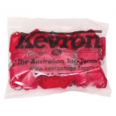 Kevron ID5 keytags red pack 50