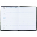 Luxe executive planner diary pvc A4 month to view black