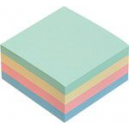 Marbig cube notes 75x75mm pastel 100sht