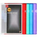 Marbig ultra heavy duty letter files pp A4 pack 10 asst colours