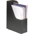 Marbig magazine file heavy duty pp black pack 2