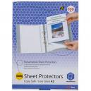 Marbig copysafe sheet protectors A5 box 100