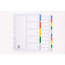 Marbig divider pp A4 5 tab coloured