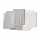 Marbig divider pp A4 1-12 tab white