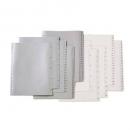 Marbig divider pp A4 1-12 tab white