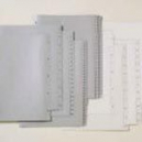 Marbig divider pp A4 1-10 tab white