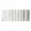 Marbig dividers pp A4 1-20 tab white