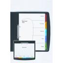 Marbig divider reinforced portrait/landscape A4 5 tab coloured