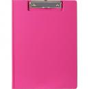 Marbig pvc clipfolder A4 pink