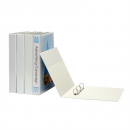 Marbig insert binder landscape A3 3 ring 50mm white