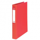 Colourhide ring binder 2 ring A4 red