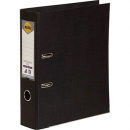 Marbig linen lever arch file PE A4 black