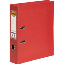 Marbig linen lever arch file PE A4 red