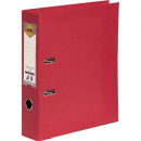 Marbig linen lever arch file PE A4 deep red