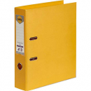 Marbig linen lever arch file PE A4 yellow