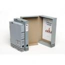 Marbig box file 44mm FC grey