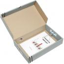 Marbig box file 80mm FC grey