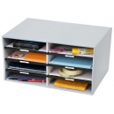 Marbig sort n stor grey 8 compartments