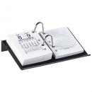 Marbig desk calendar stand side open acrylic